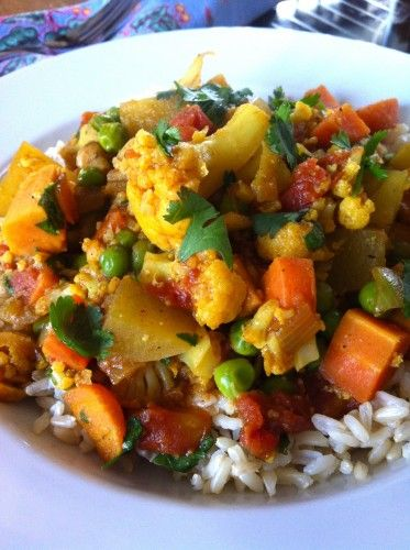 Best 18 low sodium indian food images on pinterest main dishes coconut cauliflower curry the daily dish 117 mg of sodium per serving forumfinder Image collections
