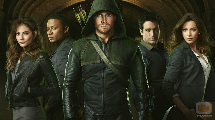 Reparto principal de 'Arrow