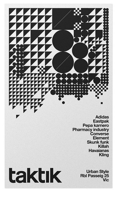 the type of image and font used on this poster reminds me of a gig poster or drum and bass/techno music, poster uses a simple two tone colour scheme black on gray.to me the layout of this poster is what makes it successful the shapes up the top draw your eye in which leads you to the text down the side and the bottom
