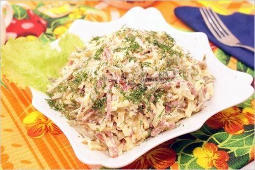 Сытный салат