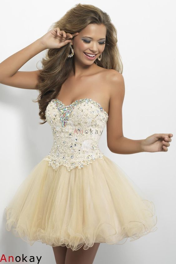 40 best Sweet 16 dresses images on Pinterest   Beautiful things ...