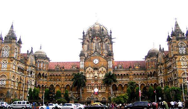 Chhatrapati Shivaji Terminus Built in Gothic Indian Architecture