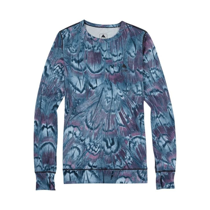 Womens Burton Thermal Top - Feathers