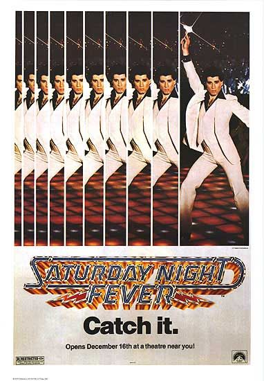 aturday night fever (1977) movie poster16