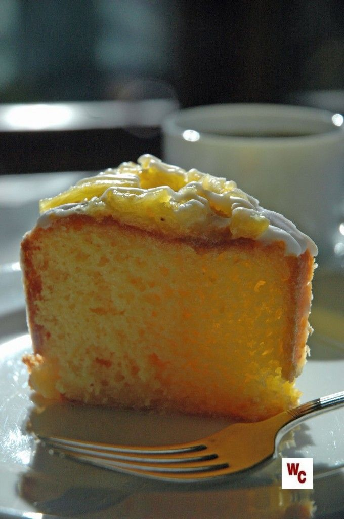 Cake with Almond Rum Icing ... with Absolutely Almond Pound Cake ...