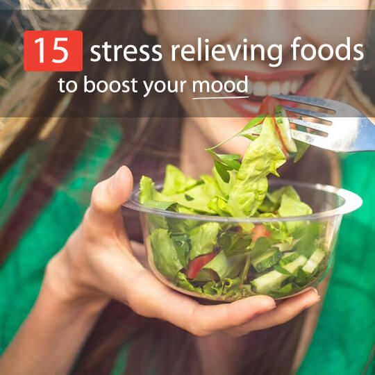 Stress Relieving Foods And Drinks