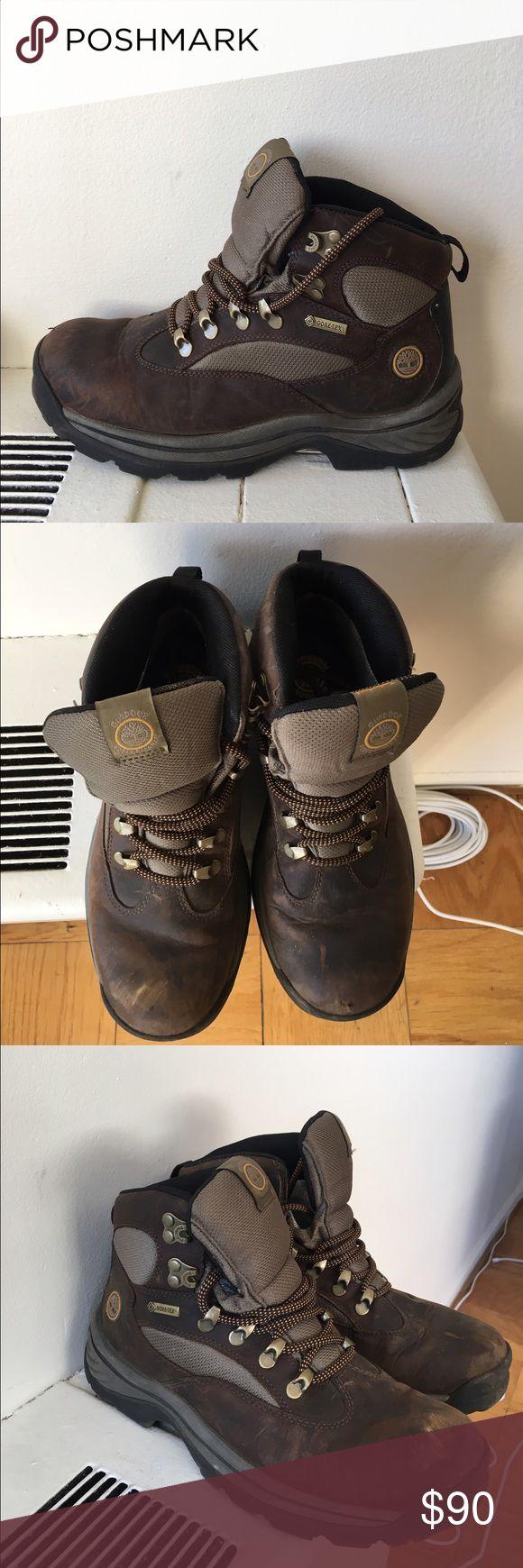 Timberland hiking boots Worn 2 times. Timberland hiking boots Timberland Shoes Winter & Rain Boots