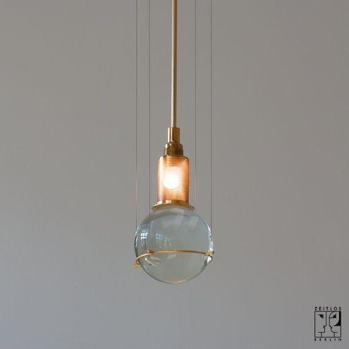 Postmodern pendant lamp by Günhter Leuchtmann - ZEITLOS – BERLIN 1981