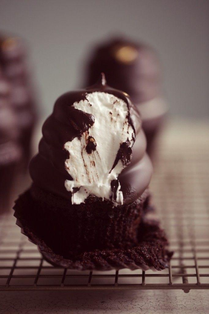 hi hat cupcakes recipe #chocolate