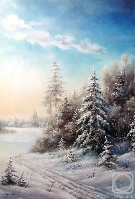 Грохотова Светлана. Зима в Андреевке