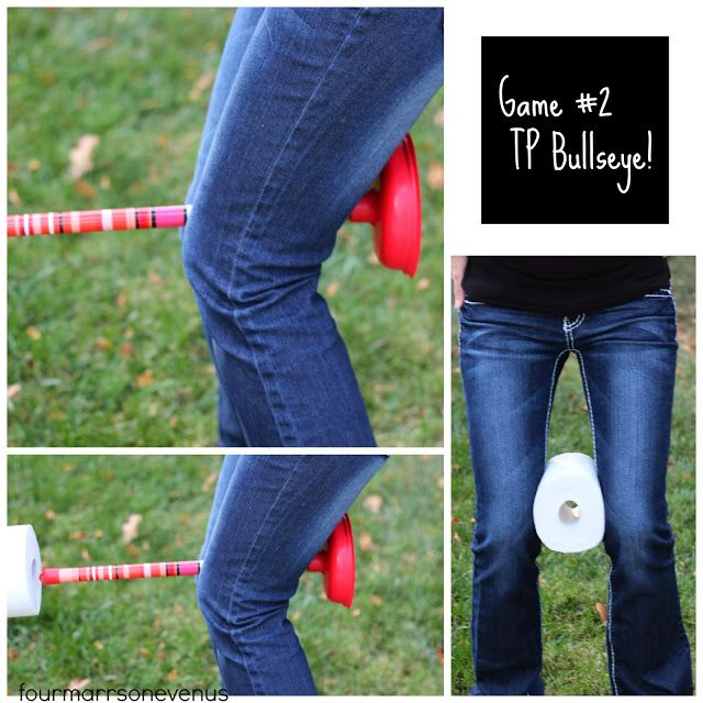 Toilet Paper games for showers