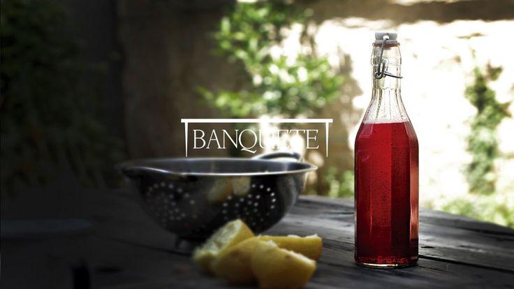 Xarope de Morango com Baunilha