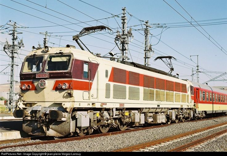 RailPictures.Net Photo: E 1253 ONCF Mitsui E 1250 at Sidi Kacem, Morocco by jean-pierre Vergez-Larrouy
