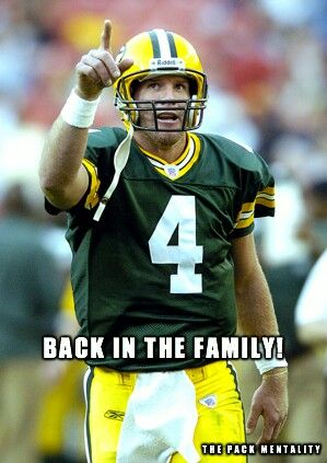 Packers plan to retire Favre's # by 2016
