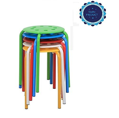 Oopamazing Round Plastic Stacking Stools Orders will be shipped within 24H(Except the weekend).It Will takes 3-6 days for you receive it! Dimension:12.2 x 12.2 x 17.3'' (LxWxH) Tube Size:0.9 x 0.05'' (Dia.xThickness) (16 Gauge) Package included: 5pcs Plastic Stackable Stools: ... more details available at https://furniture.bestselleroutlets.com/children-furniture/chairs-seats/stools/product-review-for-oopamazing-commercial-furniture-round-plastic-sta