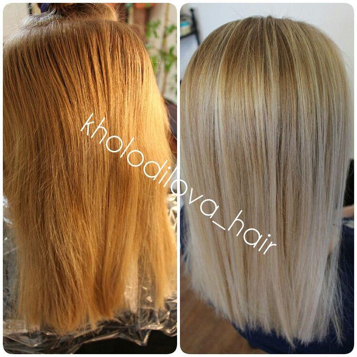 #beforeandafter #hair #haircolor #balayage #blond #beauty #mywork