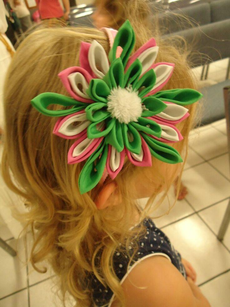 Flower Headband 9 $ USD Artfabricflowers-Instagram Artfabricflowers by Aleymy-Youtube Channel