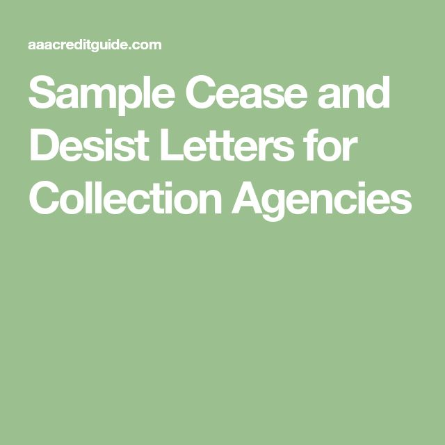 cease and desist letter template