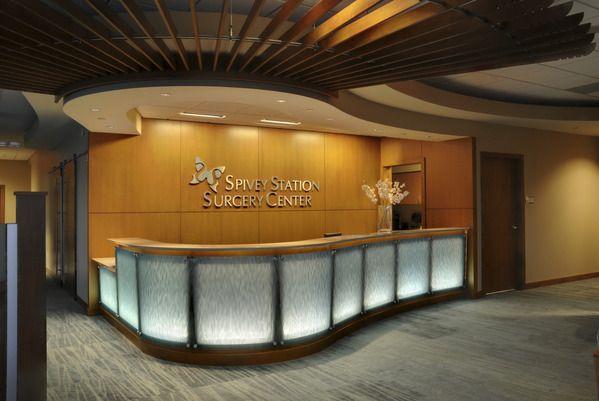 Medical Office Spivey Station Surgery Center Health Wellness Design Healthcare Design Surgery Center