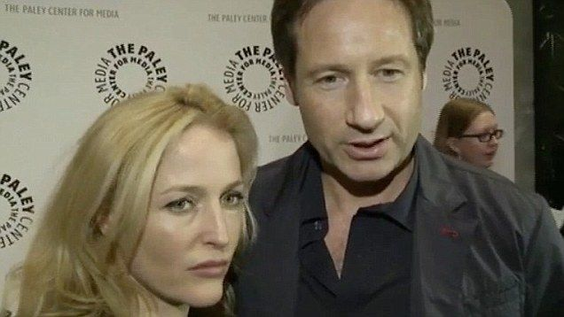 Mulder and Scully return as Fox TV revives 'The X-Files' | Daily Mail Online