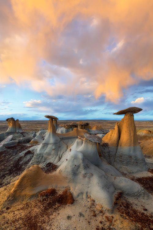 Badlands, New Mexico