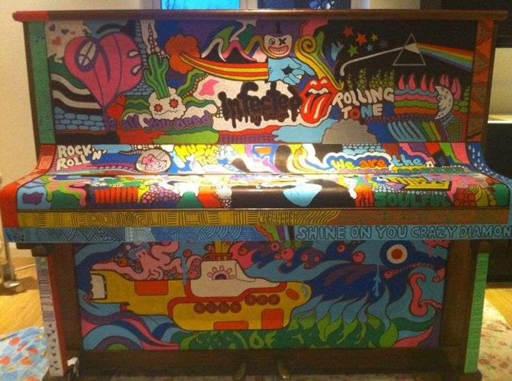find a painter/muralist who could paint the piano