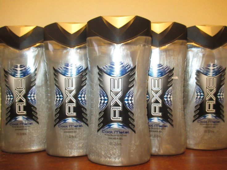 Body Washes and Shower Gels: Lot Of 5 Axe Body Wash Shower Gel Cool Metal 12 Oz BUY IT NOW ONLY: $59.99