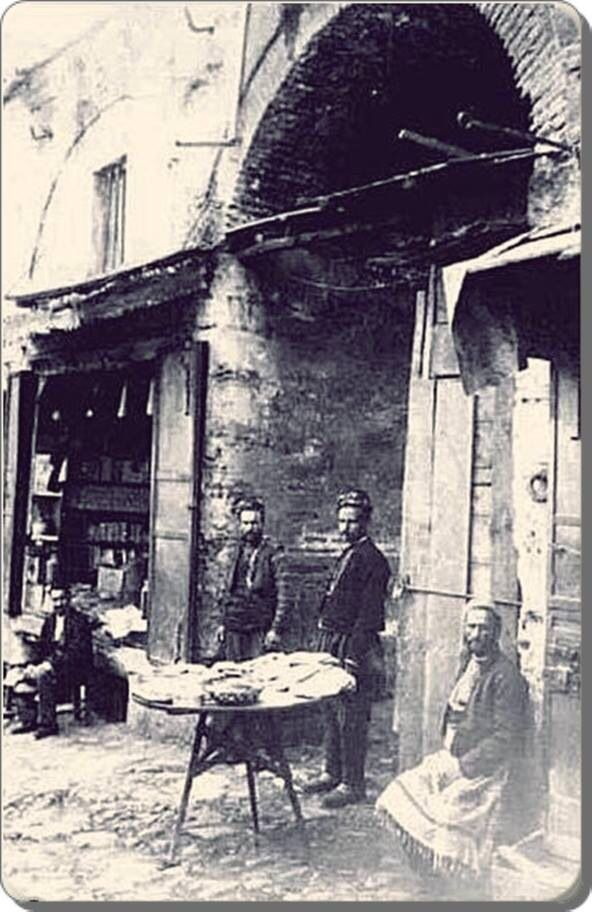 Eminönü / Misir carsisi 1900'ler Turkey