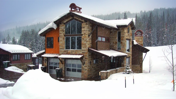Copper Mountain, CO  One of our rental options for Brad's 21st Bday!