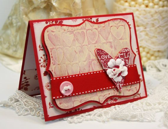 126 best images about Handmade cards – Handmade Card for Valentine
