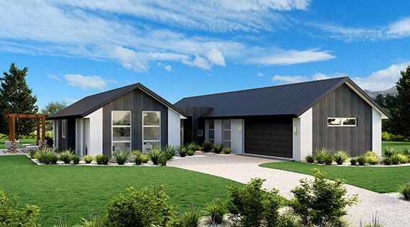 Illustrate Home Designs House Designs Nz Stonewood Homes Courtyard House Plans House Design Gable Roof House