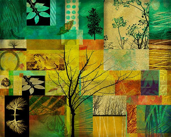 17 best images about nature art on pinterest abstract art collage and tropical - Wall arts images ...