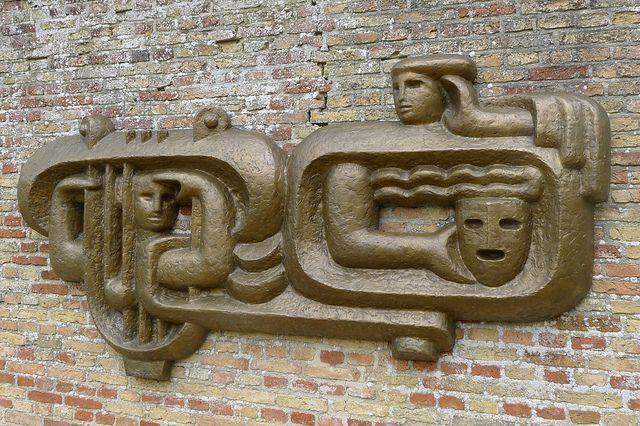 Henk Zweerus - Kijken en luisteren (1954) | Flickr - Photo Sharing!