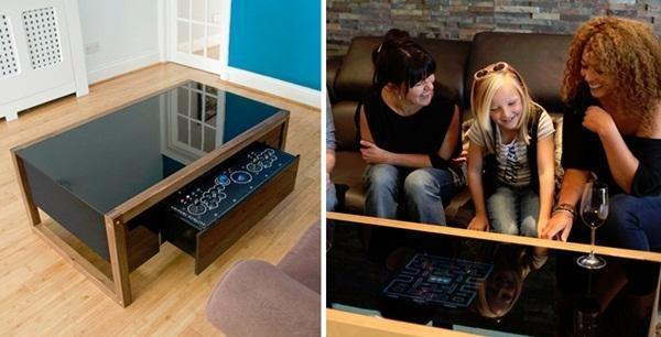 Mesa para jogos high tech para que ter uma mesa de centro for Mesas de centro que se elevan