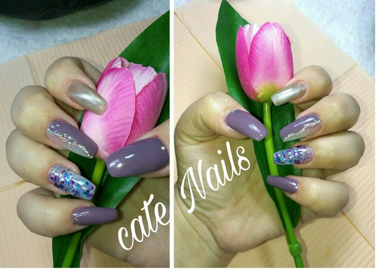 11 best Uñas acrílicas images on Pinterest | Simple, Colours and Moda