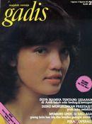 Model: Ratih Sanggarwati, Puteri Remaja Fotogenic Lux 1980. GADIS 21/1980 #GADIS40TH