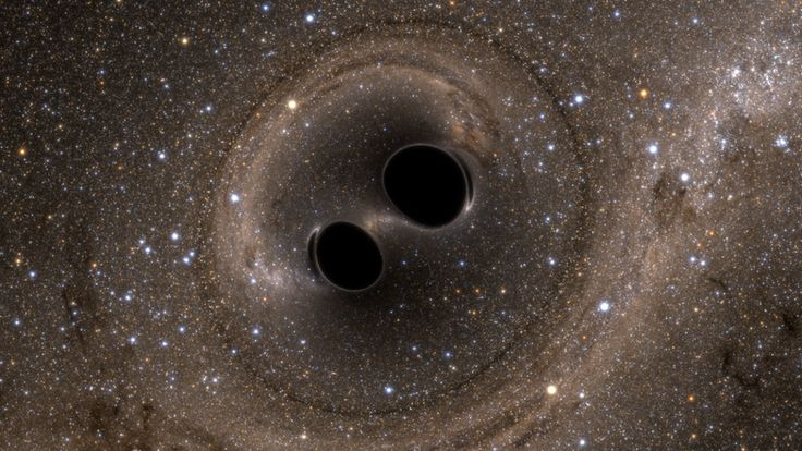 For the first time, scientists have detected tiny, rhythmic distortions in space and time - gravitational waves - predicted by Einstein 100 years ago.
