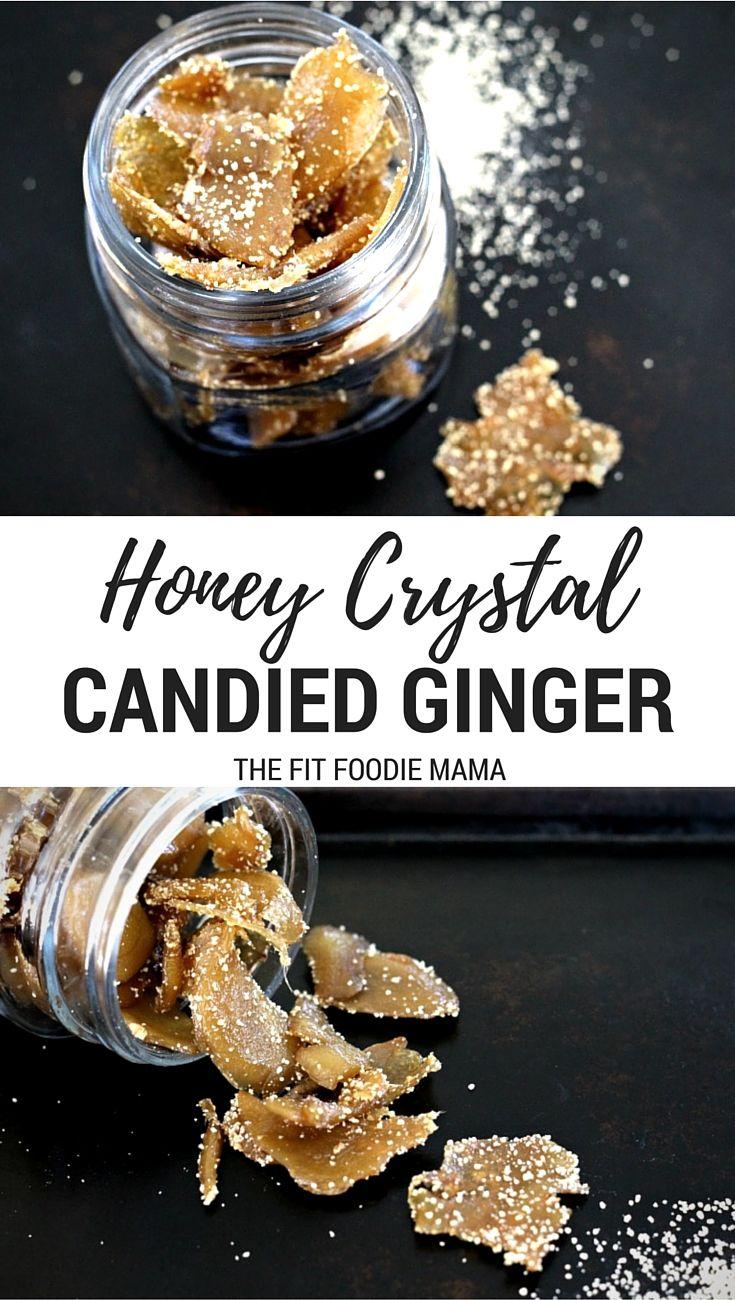 Healthy Honey-Candied Ginger Recipe made with @NektarNaturals Honey ...