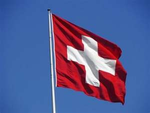 the national flag of switzerlandFlagpole,  Flagstaff
