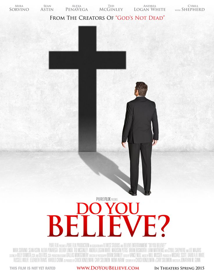 "A GREAT follow up to ""God's Not Dead""  Come on everyone, let's all go support this film! A Must See! - Checkout the movie Do You Believe? on Christian Film Database: http://www.christianfilmdatabase.com/review/do-you-believe/"