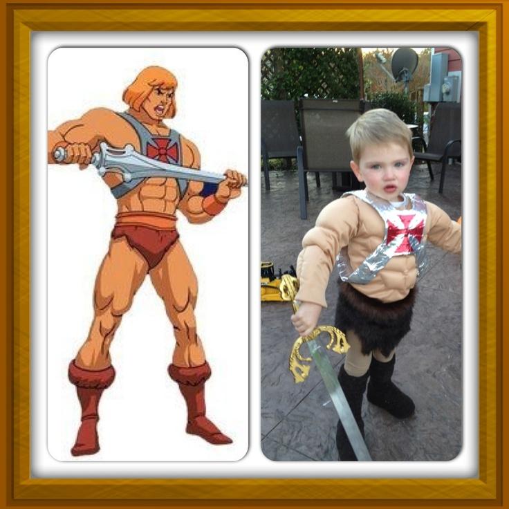 DIY Heman toddler costume  sc 1 st  Pinterest & Best 9 Costumes ideas on Pinterest | Hollween costumes Costume ...