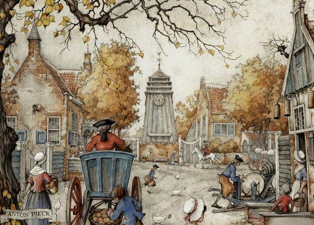 Lees Meer... : Anton Pieck Het Dorpsplein