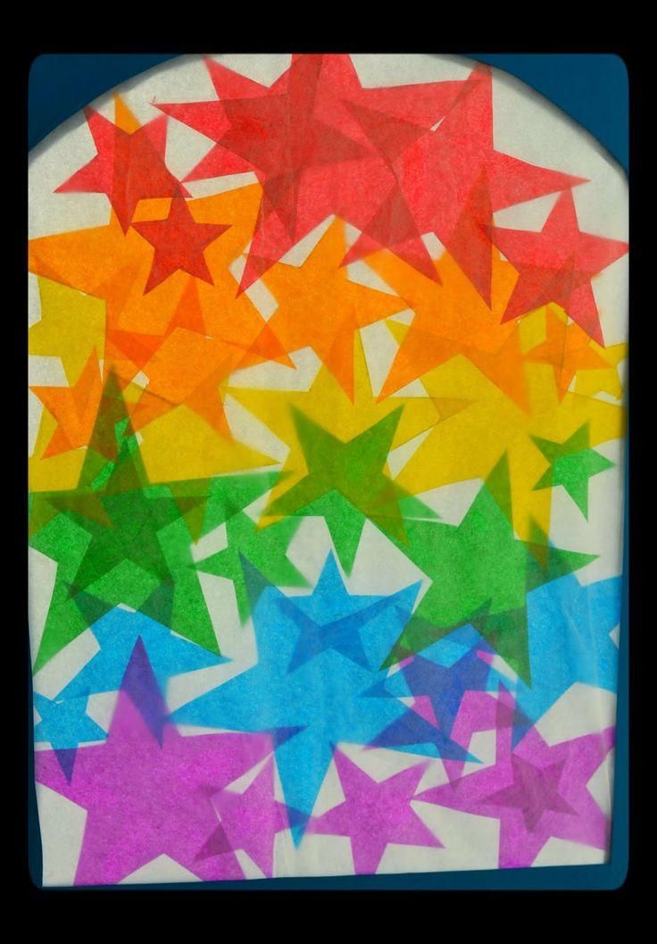 Twig and Toadstool: Rainbow STAR Transparencies!