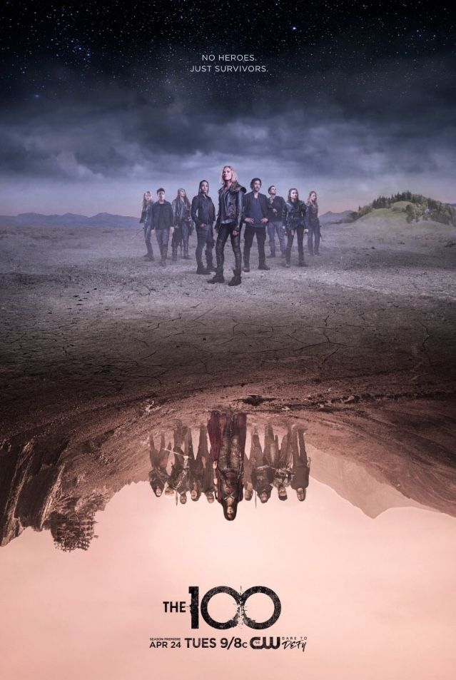 Season 5 The100 The 100 Poster The 100 Tv Series The 100