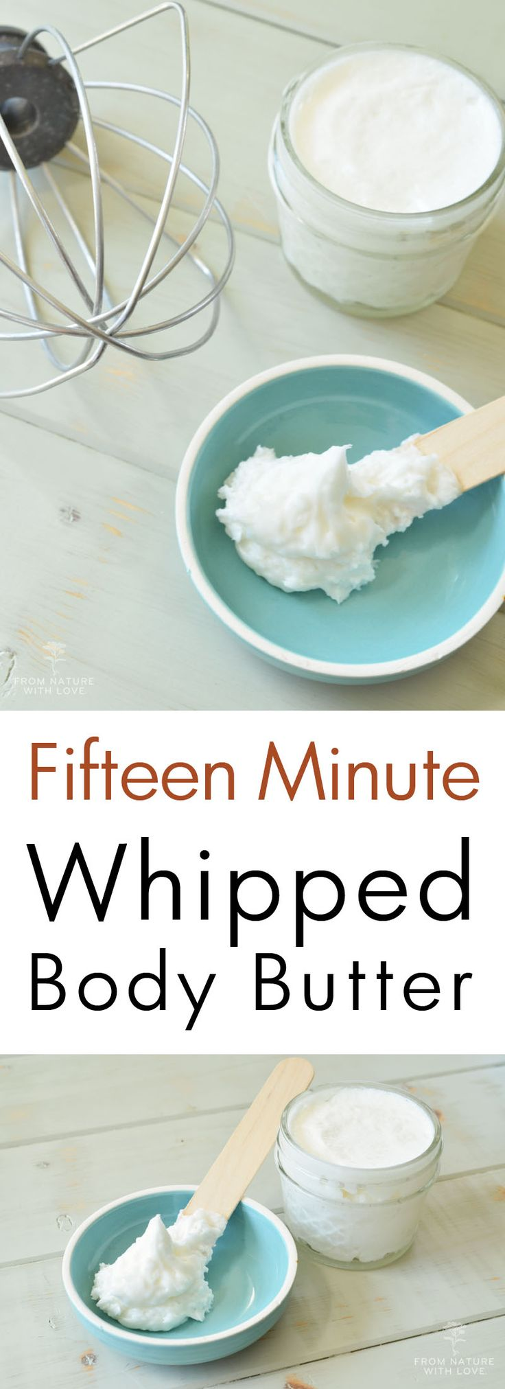 How to make a totally customized whipped body butter in just fifteen minutes!