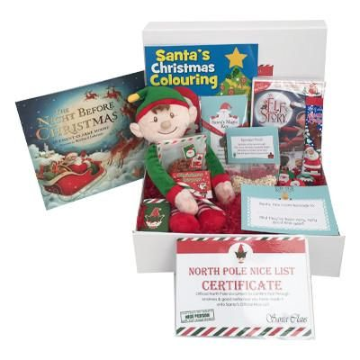 Christmas Eve Hamper - Sparkle Elf Christmas Hamper