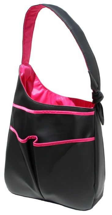 Check out what Nicole's Tennis Boutique has to offer for on and off the court! 40 Love Courture Ladies Sophi Tennis Hobo Bags - Black Faux #NicolesTennisBoutique