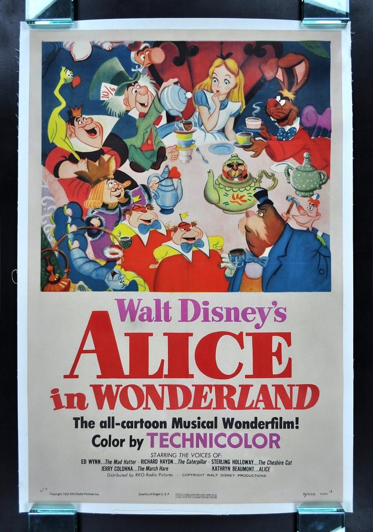 wonderland 1951 wonderland movie disney alice in wonderland alice in ...