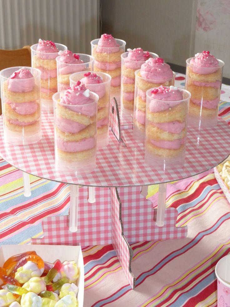 Kindergeburtstag *Push up cake pops*