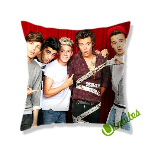 1D One Direction Square Pillow Cover